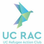UC Refugee Action Club Logo