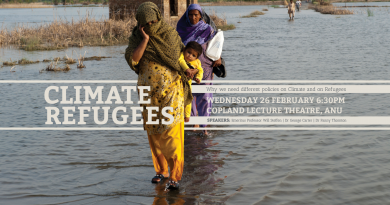 Climate Refugees Public Meeting
